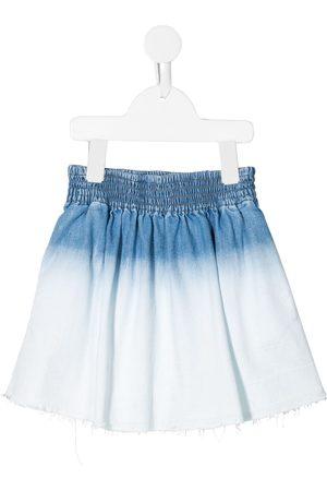 Stella McCartney Girls Denim Skirts - Bleached denim skirt
