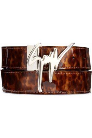 Giuseppe Zanotti Men Belts - Giuseppe tortoiseshell-effect belt