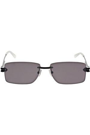 BOTTEGA VENETA Squared Metal Sunglasses
