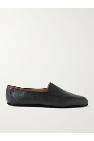John Lobb Men Slippers - Hampton Leather Travel Slippers