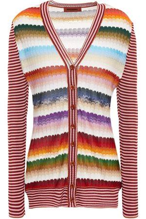 MISSONI Women Cardigans - Woman Crochet-knit Cardigan Size 40
