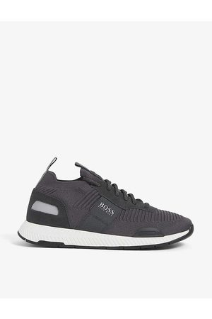 HUGO BOSS Men Sports Underwear - Sock recycled-polyester-blend knitted running trainers