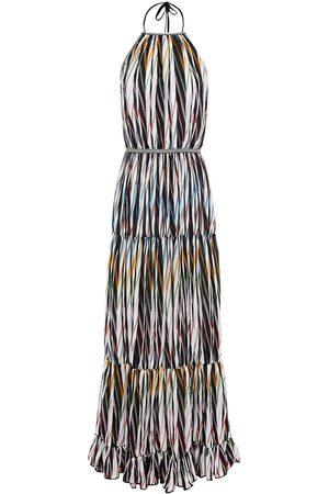 MISSONI Women Halterneck Dresses - Woman Gathered Cotton-blend Halterneck Midi Dress Size 38