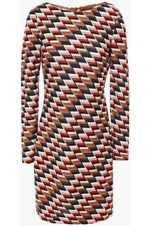 MISSONI Woman Knitted Mini Dress Brick Size 38