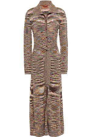Missoni Women Cardigans - Woman Crochet-knit Wool Cardigan Size 38