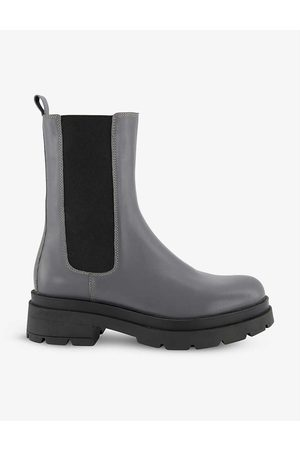 Dune Palmz chunky-soled leather Chelsea boots