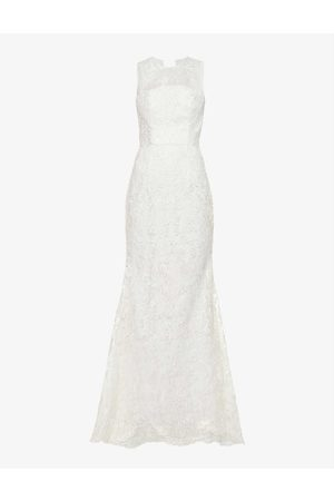 Chi Chi London Sleeveless lace wedding gown
