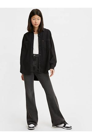 Levi's Women Trousers - 70's High Flare Jeans