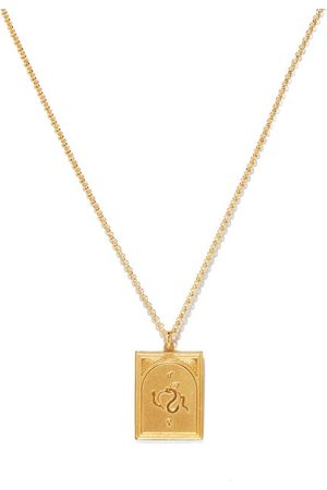 TOM WOOD Tarot Lovers 9kt -plated Silver Necklace - Mens