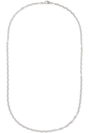 TOM WOOD Anchor-chain Sterling- Necklace - Mens