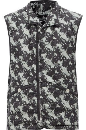 Stone Island Shadow Project Camouflage-print Padded-shell Gilet - Mens
