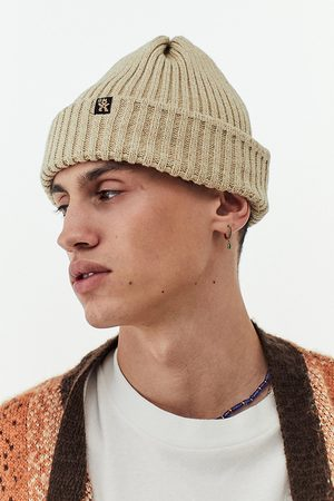 Urban Outfitters Men Beanies - UO Nomad Cream Beanie - ALL at