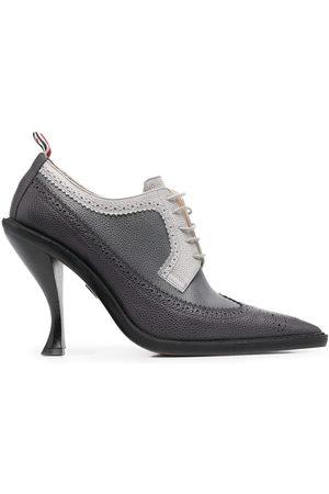 Thom Browne Women Heels - Pointed brogue pumps