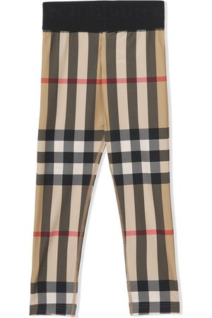 Burberry Vintage Check stretch jersey leggings