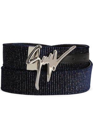 Giuseppe Zanotti Giuseppe logo-buckle belt