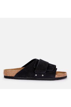 Birkenstock Men Sandals - Men's Kyoto Desert Buck Slide Sandals