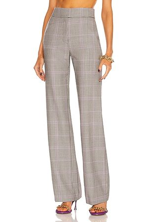 ALEXANDRE VAUTHIER Plaid Tailored Pant in