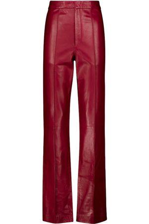 Isabel Marant Bilirokia high-rise leather pants