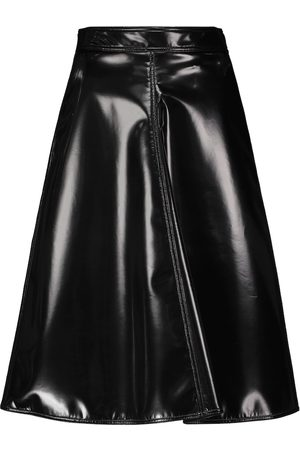 Moncler Genius Women Leather Skirts - 2 MONCLER 1952 faux leather midi skirt