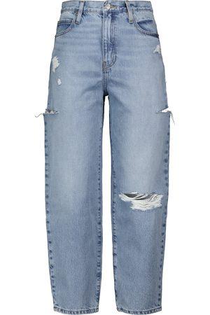 FRAME Ultra high-rise wide-leg jeans