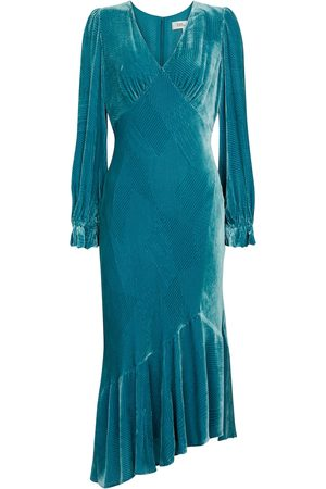 Diane von Furstenberg Manal velvet midi dress