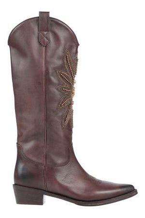 Coral Blue Women High Leg Boots - FOOTWEAR - Knee boots