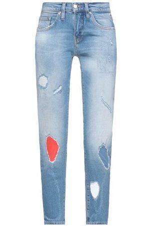 FREEMAN T.PORTER Women Trousers - BOTTOMWEAR - Denim trousers