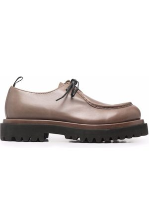 Officine creative Polished calf leather shoes - Neutrals