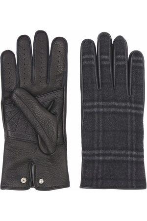 Burberry Check-print gloves
