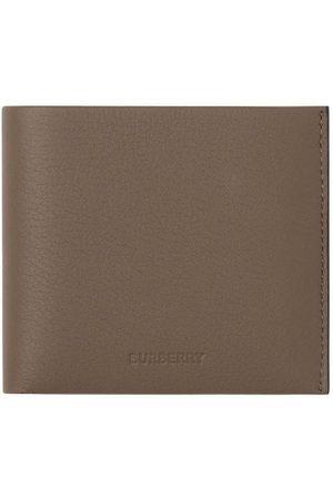 Burberry Debossed-logo leather wallet