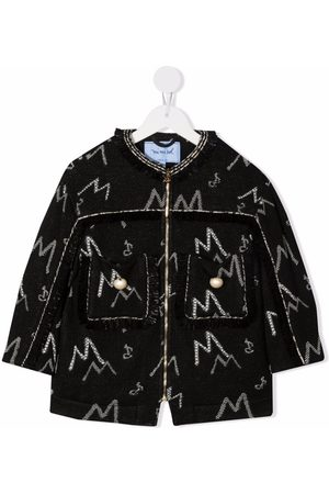 Mimisol Embroidered two-pocket coat