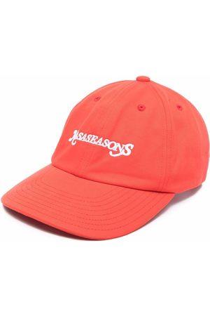 NASASEASONS Logo embroidered cap