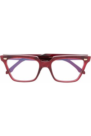 CUTLER & GROSS Transparent square-frame glasses