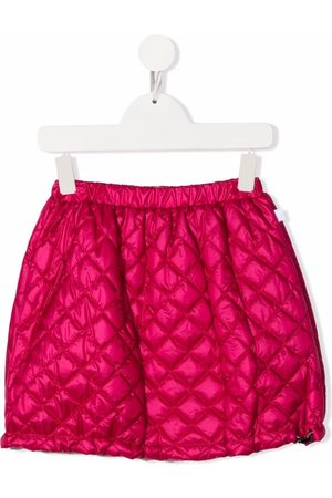 Il Gufo Diamond quilted straight skirt