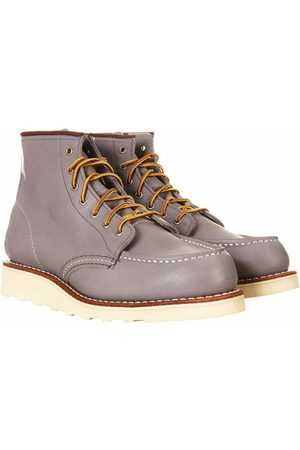 """Red Wing Women's 3378 Heritage 6"""" Moc Toe Boot - Granite Boundary Leather UK 4.5 (W), Colour:"""