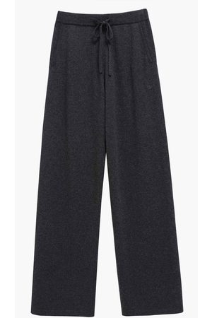 Chinti and Parker Wide Leg Pant Charcoal