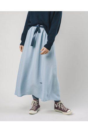 Brava Fabrics Women Denim Skirts - Indigo Tencel Skirt Denim