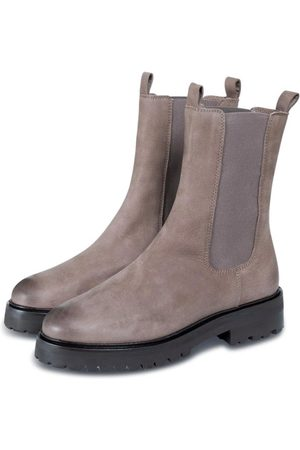 YaYa Women Boots - Soft leather boots with elastic at side