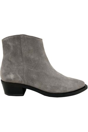 Shoe Biz Women Ankle Boots - Uviaya Vac Alfa Ankle Suede Boot