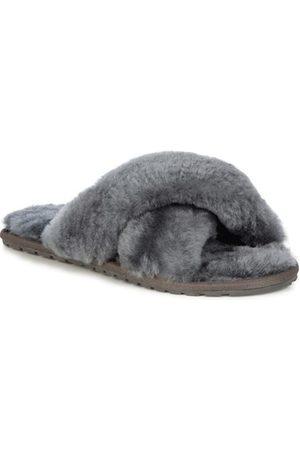 Emu Australia Women Loungewear - EMU Mayberry Charcoal Slippers