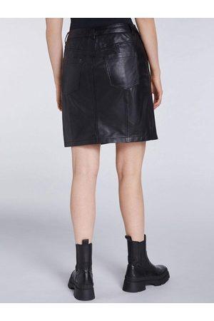 Set Fashion Set Leather Skirt