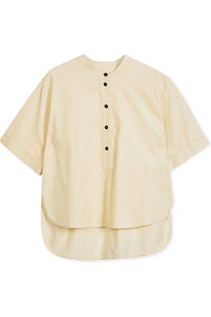 YMC Manon Shirt - Needle Cord Ecru