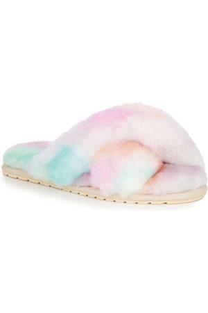 Emu Australia Women Slippers - Mayberry Tie Dye Sheepskin Slippers Fairy Floss W12655
