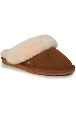 Emu Australia Jolie Sheepskin Slippers Chestnut W10015