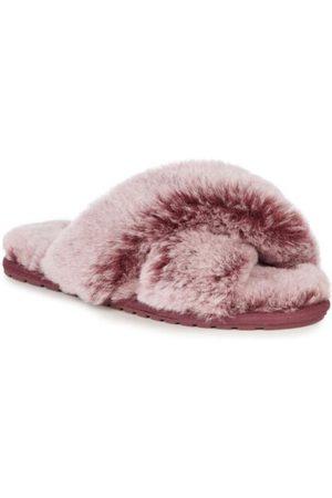 Emu Australia Women Slippers - Mayberry Frost Sheepskin Slippers Burnt Rust W12013