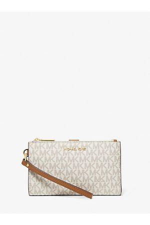 MICHAEL Michael Kors Women Purses & Wallets - MK Adele Logo Smartphone Wallet - Vanilla - Michael Kors