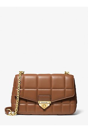 MICHAEL Michael Kors MK SoHo Large Quilted Leather Shoulder Bag - Luggage - Michael Kors