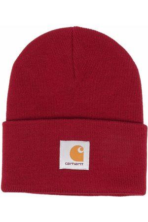 Carhartt Purl-knit logo-patch beanie