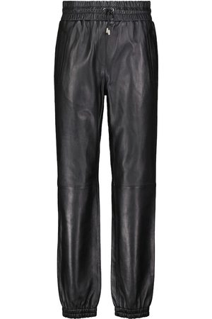 Stand Studio Justice leather trackpants