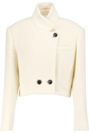 Isabel Marant Edna cropped wool jacket